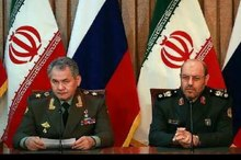 وزیران دفاع ایران و روسیه در مسکو دیدار می کنند