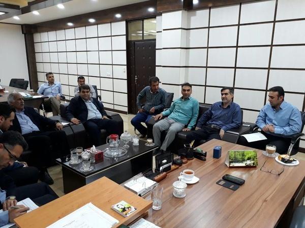 جلسهی آب شرب شهرستان امیدیه برگزار شد