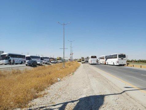 مرز مهران مملو از زائران اربعین