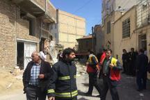 انفجار گاز شهری در ارومیه 5 مصدوم بر جای گذاشت
