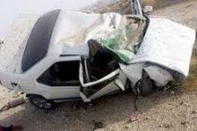 واژگونی خودروی سواری در جاده زنجان ۲ کشته برجا گذاشت