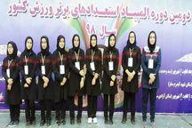 بانوی وزنهبردار تبریزی مدال طلای استعداد های برتر را کسب کرد