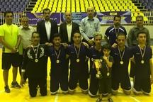 قهرمانی رقابتهای فوتسال هفته دولت به شهرداری بوشهر رسید