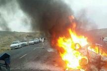 سانحه رانندگی در مشگین شهر 2 کشته و هفت مصدوم برجای گذاشت