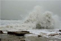 ارتفاع موج در سواحل سیستان و بلوچستان به 2 متر و 50 سانتی متر رسید