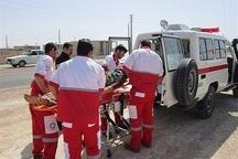 هلال احمر به 46 مصدوم در محور آستارا-اردبیل امداد رساند