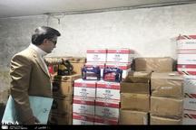 هزار گالن روغن خودروی احتکاری در مشهد کشف شد