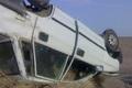 واژگونی پراید در جاده تیران-داران 6 مصدوم برجا گذاشت