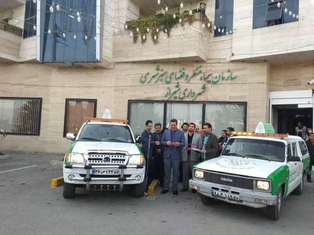 گشت ویژه حفاظت از فضای سبز شیراز راه اندازی شد