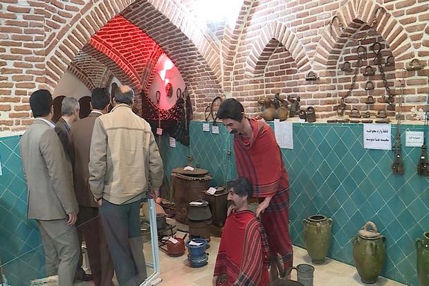 بازدید 1077 گردشگر نوروزی از موزه حمام میرزا رسول در مهاباد