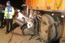 سانحه رانندگی در فامنین یک کشته برجا گذاشت