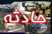 برخورد سوناتا و کامیونت در آزاد راه کاشان - نطنز 3 کشته بر جا گذاشت