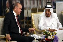 گفتوگوی اردوغان با پادشاه عربستان