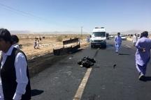 4 مصدوم در محور راسک- ایرانشهر بر اثر واژگونی خودرو