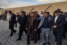 30 طرح عمرانی و خدماتی شهرداری تیران افتتاح شد