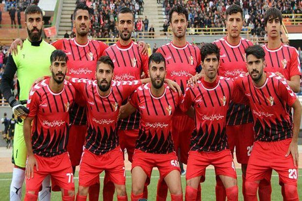 تیم فوتبال سردار بوکان مقابل شهرداری بندرعباس به پیروزی رسید