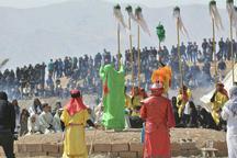 برگزاری بزرگترین تعزیه میدانی کشور در روستای صحرارود شهرستان فسا