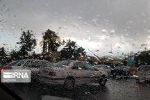 بارش پراکنده باران همدان را فرا میگیرد