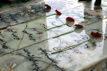 158 گلزار شهدای البرز گلباران شد