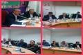 برگزاری جلسه بهره وری از آب و اجرای سیستم های نوین آبیاری تحت فشار