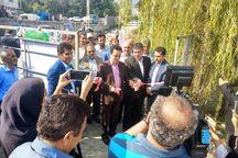دو طرح ساماندهی رودخانههای نوشهر افتتاح شد