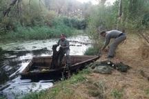 500 متر تور ماهیگیری در شاهین دژ جمع آوری شد
