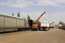 ظرفیت بارگیری کالا در بخش ریلی زنجان 301 درصد رشد یافت