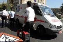 تصادف 2 دستگاه خودروی سواری در محور تهران- اسلامشهر 3 مصدوم داشت