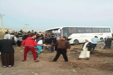 اسامی کشته شده های سانحه اتوبوس  راهیان نور در سوسنگرد اعلام شد