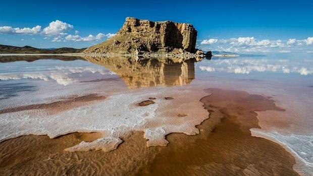 عقبماندگی احیای دریاچه ارومیه به دلیل کمبود اعتبارات