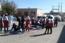 مانور زلزله در مدارس ایرانشهر برگزار شد