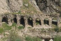مرمت بنای تاریخی پل بریم باشت آغاز شد