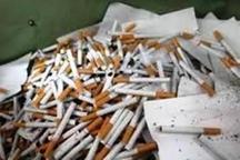 کشف بیش از پنج هزار نخ سیگار قاچاق در آزادشهر