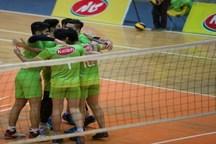 صعود کاله جوان مازندران به مرحله حذفی لیگ دسته یک والیبال کشور