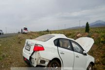 سوانح رانندگی در سبزوار پنج نفر را مجروح کرد