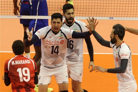 ادامه شکست ناپذیری والیبال ایران با برتری برابر کوبا+ تصاویر و آمار