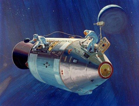 راهپیمایی فضایی در ۴۰۰ هزار کیلومتری زمین!