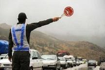 بسته شدن جاده ها در استان بستگی به شدت بارندگی ها دارد