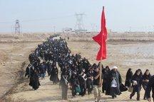 240 دانش آموز دختر پیشوا عازم مناطق عملیاتی شدند