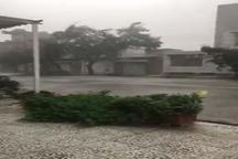 طوفان به دزفول رسید