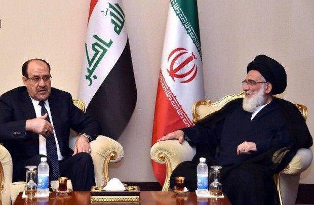 دیدار رییس مجمع تشخیص مصلحت نظام با معاون رییس جمهور عراق