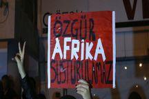 عکس/ تظاهرات ترک های قبرس علیه اردوغان