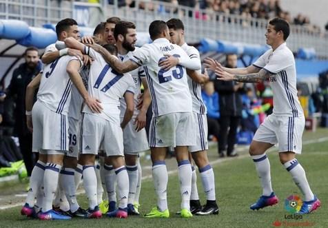 تداوم صدرنشینی رئال مادرید با برتری در خانه بیلبائو
