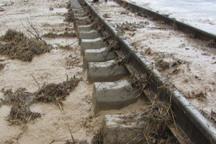 راه آهن شمال تا اول فروردین 98 مسدود است