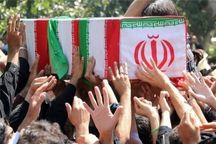 پیکر شهید گمنام در آموزش و پرورش کرج تشییع شد