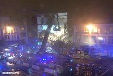 انفجار مهیب در ساختمانی در بلژیک+ تصاویر