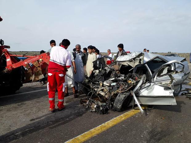 9313 حادثه دیده نوروزی سیستان و بلوچستان امداد رسانی شدند