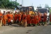 هفته چهارم از پاکسازی محلات نواحی ۱۵ گانه شهرداری رشت