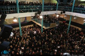 مراسم وداع با پیکر آیت الله هاشمی رفسنجانی(ره) در حسینیه جماران-7