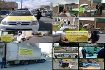 ارسال کمک های مردمی شهرستان فردیس به مناطق سیل زده
